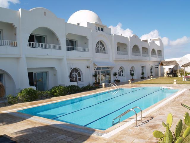 hôtel Villa Azur Djerba / Façade