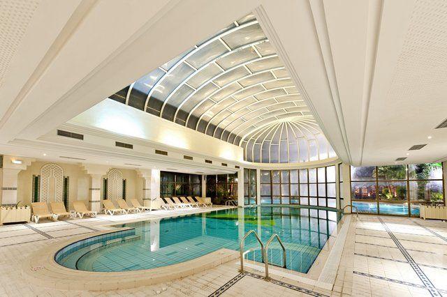 Palm Beach Palace Tozeur - piscine intérieure