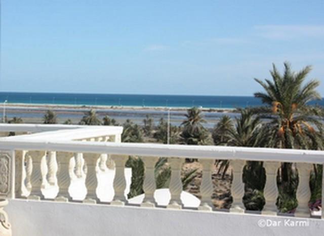 Dar Karmi Djerba : vue sur la lagune de Taguermess