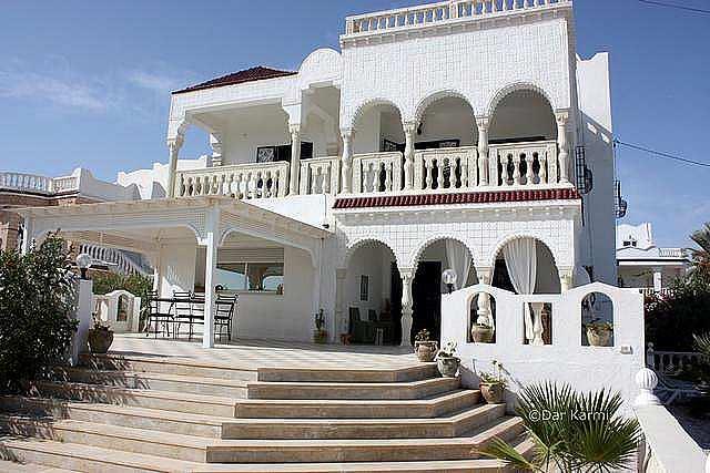 Façade Maison d'hôtes Dar Karmi Djerba