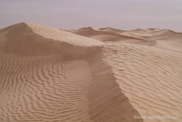 Trek au pays du sable blanc