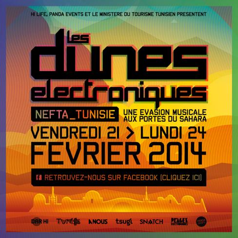 Les Dunes Electroniques, un festival musical sauce Star Wars