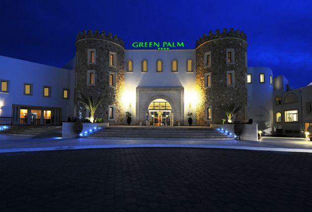 Hôtel Green Palm entrée principale