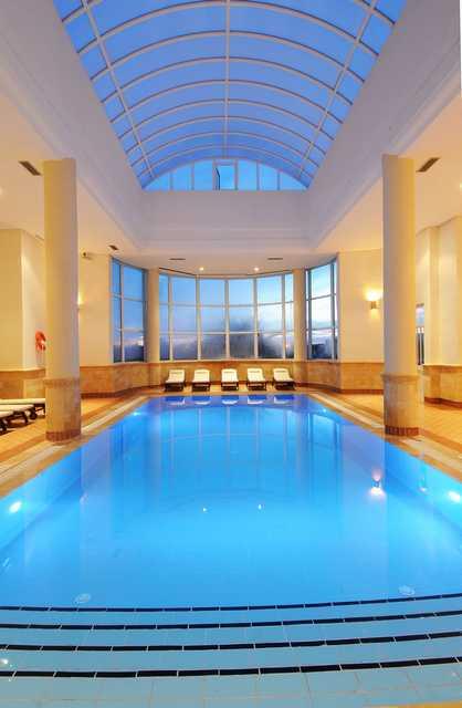 Hôtel Green Palm piscine intérieure