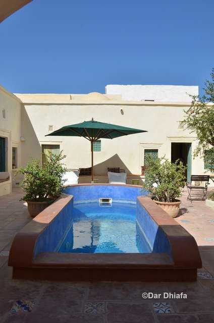 Dar Dhiafa - Petite piscine