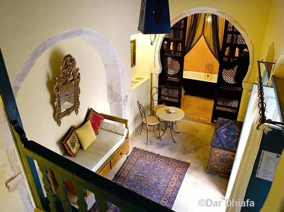 Dar Dhiafa - chambre Calife