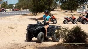 Quad à Djerba