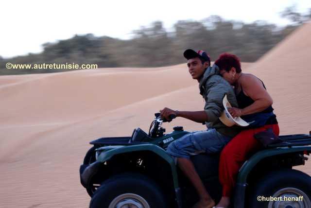 Excursion quad dans le Sahara tunisien – 1 jour