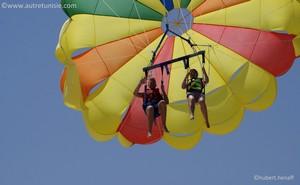Parachute ascensionnel à Djerba