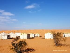 Journée désert et campement au sud de Ksar Ghilane – Avril 2019