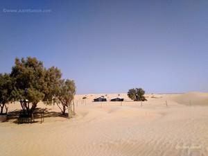 Nuit campement désert tunisien – Juillet 2019